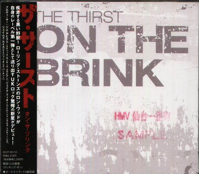 K - The Thirst - On The Brink - 日版 CD+3BONUS
