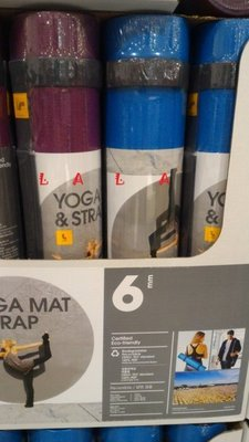 台灣製 LOLE 6mm環保PER瑜珈墊(175*61cm)COSTCO好市多代購