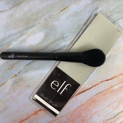 E.L.F elf正品iHerb購入Blush Brush腮紅刷:舌型刷頭,也可做眼部定妝刷,局部定妝刷 CP值高的刷具