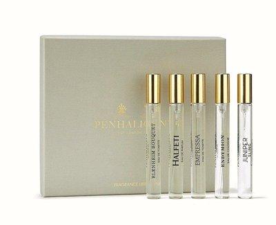 [韓國免稅品代購] PENHALIGON'S 潘海利根香水套組 10ml5入 EDT禮盒 英國頂級香氛品牌 試管正品非分裝