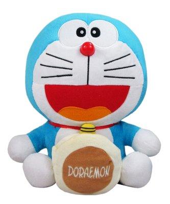 【卡漫迷】 哆啦A夢 玩偶 銅鑼燒 ㊣版 Doraemon 絨毛娃娃 小叮噹 銅鑼燒 手機座 收藏