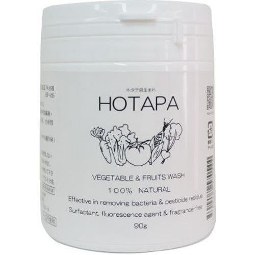 日本製【HOTAPA】純天然居家清潔系列 蔬果洗滌粉 90g