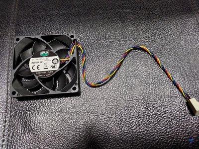 Cooler Master酷碼散熱風扇DC12V 0.25A 7x7x1.5cm CPU用7公分風扇 小4P接頭4線F6