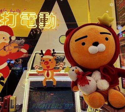 新款韓國KAKAO獅子上班族公仔RYAN飛行員毛絨公仔 玩具 禮物