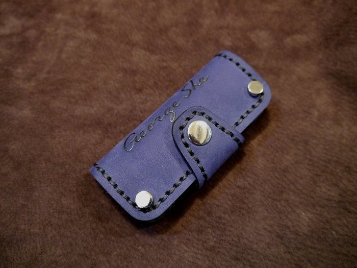 (KH手工皮革工作室)vespa偉士牌LX Primavera Sprint GTS兩支鑰匙皮套顏色可自選免費燙字