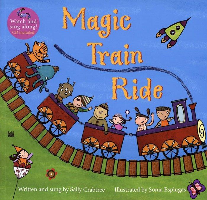 *小貝比的家*MAGIC TRAIN RIDE/ 平裝書+VCD/3~6歲