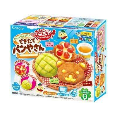+東瀛go+ 日本Kracie 知育果子 手做烘焙麵包造型糖 手作甜點 手做DIY系列 日本進口 親子同樂 連假首選