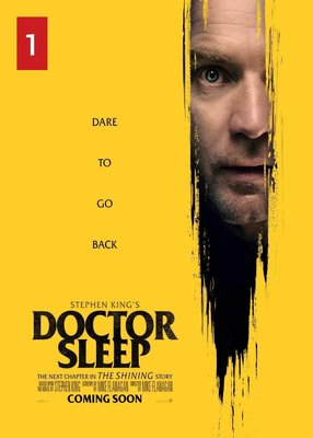(電影海報) 安眠醫生 史蒂芬金 鬼店 牠 黑塔 閃靈 小丑 好萊塢 伊旺 麥奎格 蕾貝卡 恐懼 神秘 電影