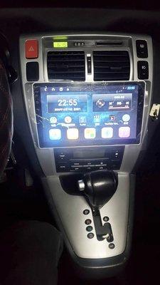 Hyundal 05-09年 Tucson 10.2吋 專用機 Android 安卓版觸控螢幕主機 導航/USB