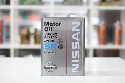 [ 樂油油] 日本 NISSAN 原廠 5W30 SN 合成機油