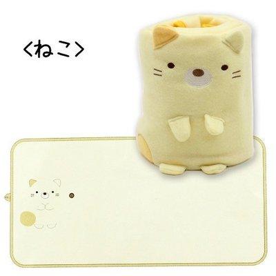 尼德斯Nydus~* 日本正版 San-X 療癒系 角落生物 造型玩偶 毛毯 披巾 披肩 小毯子 -共2款