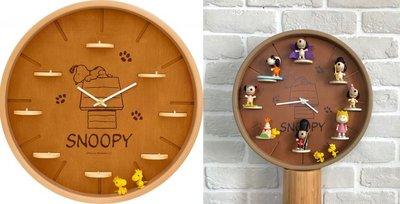 cute music (6) 他人勿下  補下 7-11 史努比 Snoopy snoopy 【限量圓形木頭大掛鐘】
