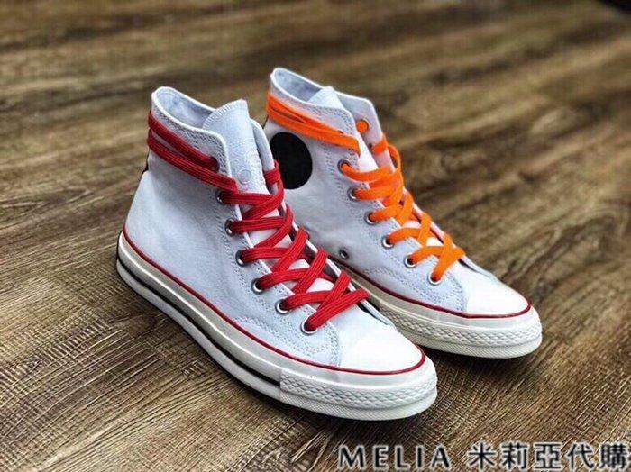 Melia 米莉亞代購 商城特價 數量有限 每日更新 0606 CONVERSE 男女情侶款 帆布鞋 高筒 錄音機款 白