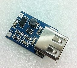 DC-DC 升壓模組 (0.9V~5V)升5V 600MA USB 升壓模組DIY 手機 移動電源 [264041]