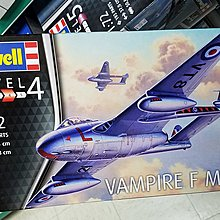 Revell-special hobby-03934-RAF-Vampire F3-1/72-加2元-M-250