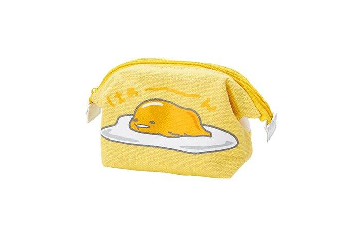 佳佳玩具 ----- 日本進口 三麗鷗 正版授權 蛋黃哥 Kitty 收納袋 迷你化妝包 【1239150】