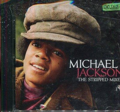 *還有唱片四館* MICHAEL JACKSON / THE STRIPPED MIXES 二手 D0262 (封面底破