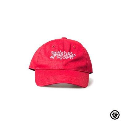 SQUAD 2016 S/S SQUAD SquadUp系列 電波老帽 Wave Peaked Cap 紅色