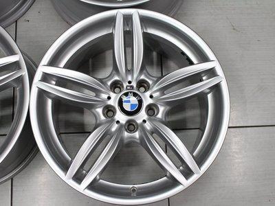 ~三重長鑫車業~極新 BMW F10 535 550 原廠 M-TECH 5孔 120 19吋前後配鋁圈 附送四條中古胎