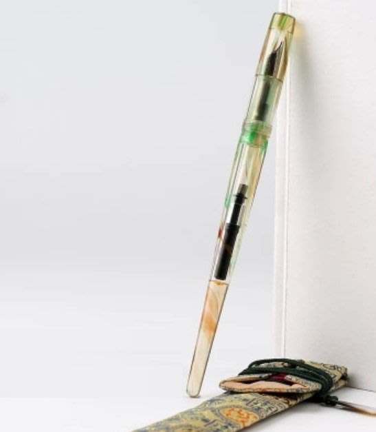 ☆艾力客生活工坊☆N-072 中國鋼筆論壇Penbbs 267 旋轉吸墨 鋼筆 藝術鋼筆(0.5F)15色-極光