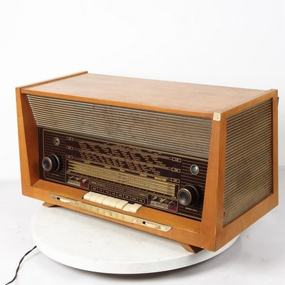 百寶軒 1960年代西洋古董德國根德Grundig3095/56老式電子管收音機膽機 ZG3466