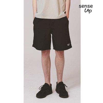 【集千】春韓國DEFAULT設計師品牌字母抽繩運動短褲