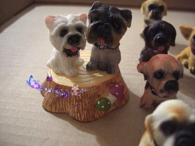 【酷正3C】我的DIY小木屋 袖珍屋 娃娃屋 擺飾動物 狗狗(不挑款)