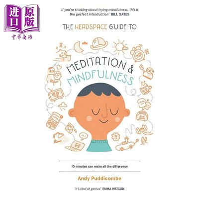 The Headspace Guide to Mindfulness & Meditation 英文原版 簡單冥想術:激