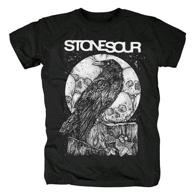 發發潮流服飾熱銷新款短袖黑色 Stone Sour 莫洛托夫雞尾酒 硬搖滾 歐美 T恤