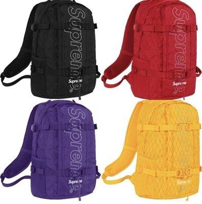 Supreme 45th backpack後背包 18FE