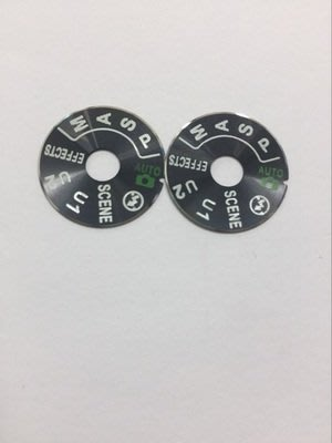 現貨,尼康 Nikon 維修零件,D750 模式轉盤蓋標籤貼,附3M雙面膠,店到店取貨付款