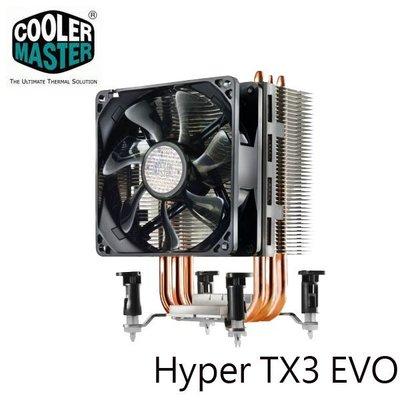 【MR3C】缺貨 含稅 CoolerMaster訊凱 酷媽 Hyper TX3 EVO CPU散熱器 新竹市