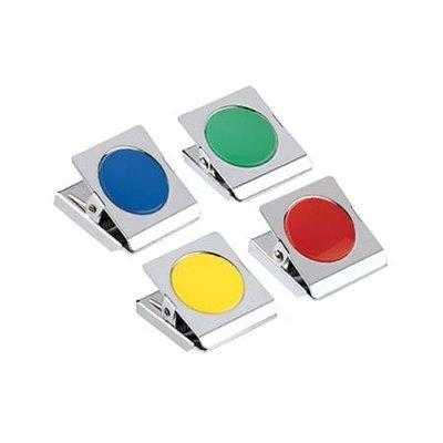 三燕 COX MS-300 彩色磁夾【圓型膠片】好好逛文具小舖