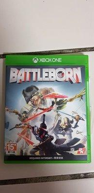 XBOX ONE 遊戲 為戰而生 Battleborn 中文亞版