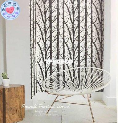【大台北裝潢】BON台灣現貨壁紙* 自然 森林 樹幹(2色) 每支650元