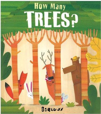 *小貝比的家*HOW MANY TREES?/平裝環保樹木/3~6歲/環境教育