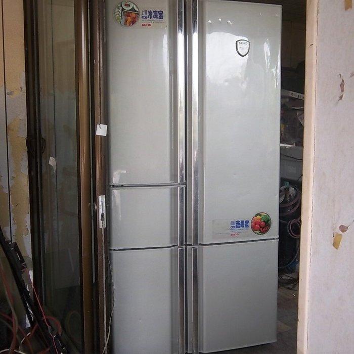 高屏**萬丹超值中古/二手*SANYO三洋五門電冰箱700L,自取 特價9500元!適用冷飲店為自行到店載運價格