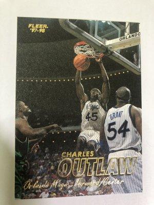 Charles Outlaw #283 1997-98 Fleer Basketball