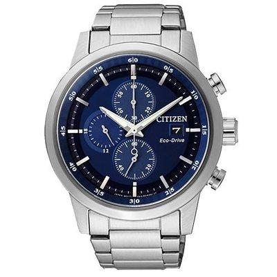CITIZEN Eco-Drive光動能計時腕錶-藍/ 43mm/ CA0610-52L 新北市