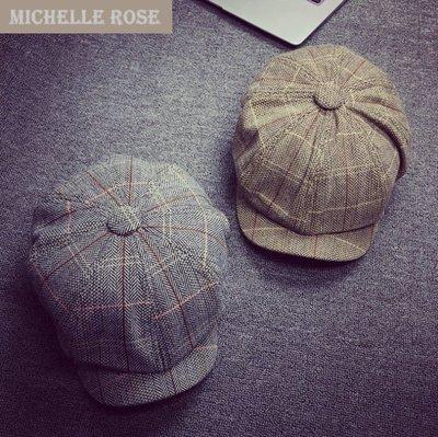 [YP151027-2]貝雷帽復古文藝百搭英倫畫家帽男女帽-2色[預購]