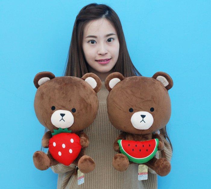 娃娃夢幻樂園~可愛小熊娃娃~TOM熊玩偶~小熊玩偶~高約30公分~大頭熊玩偶~生日禮物~全省宅配
