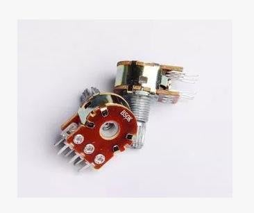 雙聯 6腳 B500k 電位器  (10個一拍)  [258737-035]