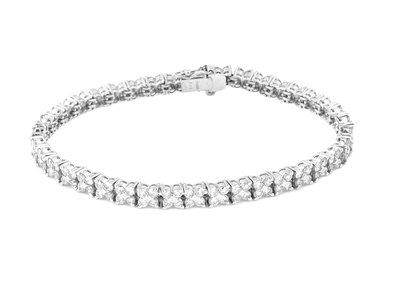 【JHT金宏總珠寶/GIA鑽石專賣】天然鑽石手鍊(JB48-A07)