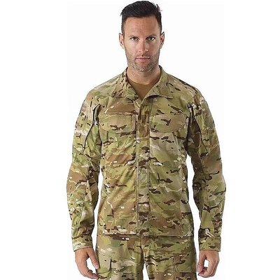 加拿大頂級戶外品牌Arc'Teryx 始祖鳥LEAF Alpha MultiCam軍事迷彩防風襯衫