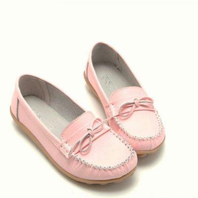 全真皮莫卡辛休閒鞋(全新)舒適加厚鞋墊,超柔軟底,好穿好走~