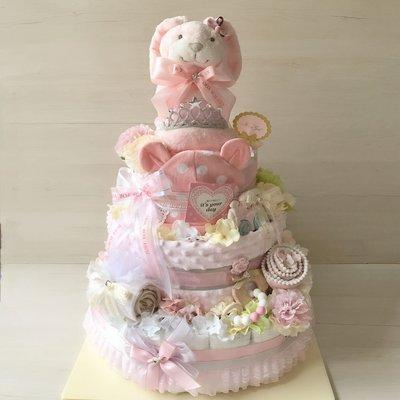 Boa客製精緻3層以上尿布蛋糕