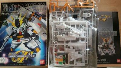中古 全新 Bandai BB戰士 SD高達 No 209 GGeneration-F RX-93 V Gundam HWS 仕樣 New Gundam