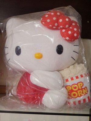 Hello Kitty Go Around歡樂嘉年華-38cm大隻kitty爆米花娃娃