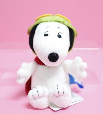 【Dona日貨】日本正版 電影I love snoopy史努比飛行員 娃娃/玩偶/布偶 C08