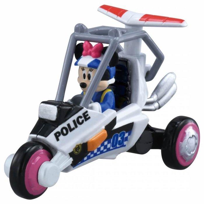 =海神坊=日本原裝空運 TAKARA TOMY 多美小汽車 迪士尼 DS-03 米奇妙妙保衛隊 米妮 合金模型車